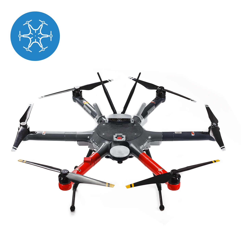dron heksakopter x 01